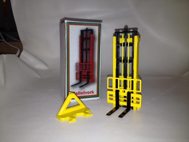 Hefmast Geel met Zwarte vorken (doos a 12 stuks)