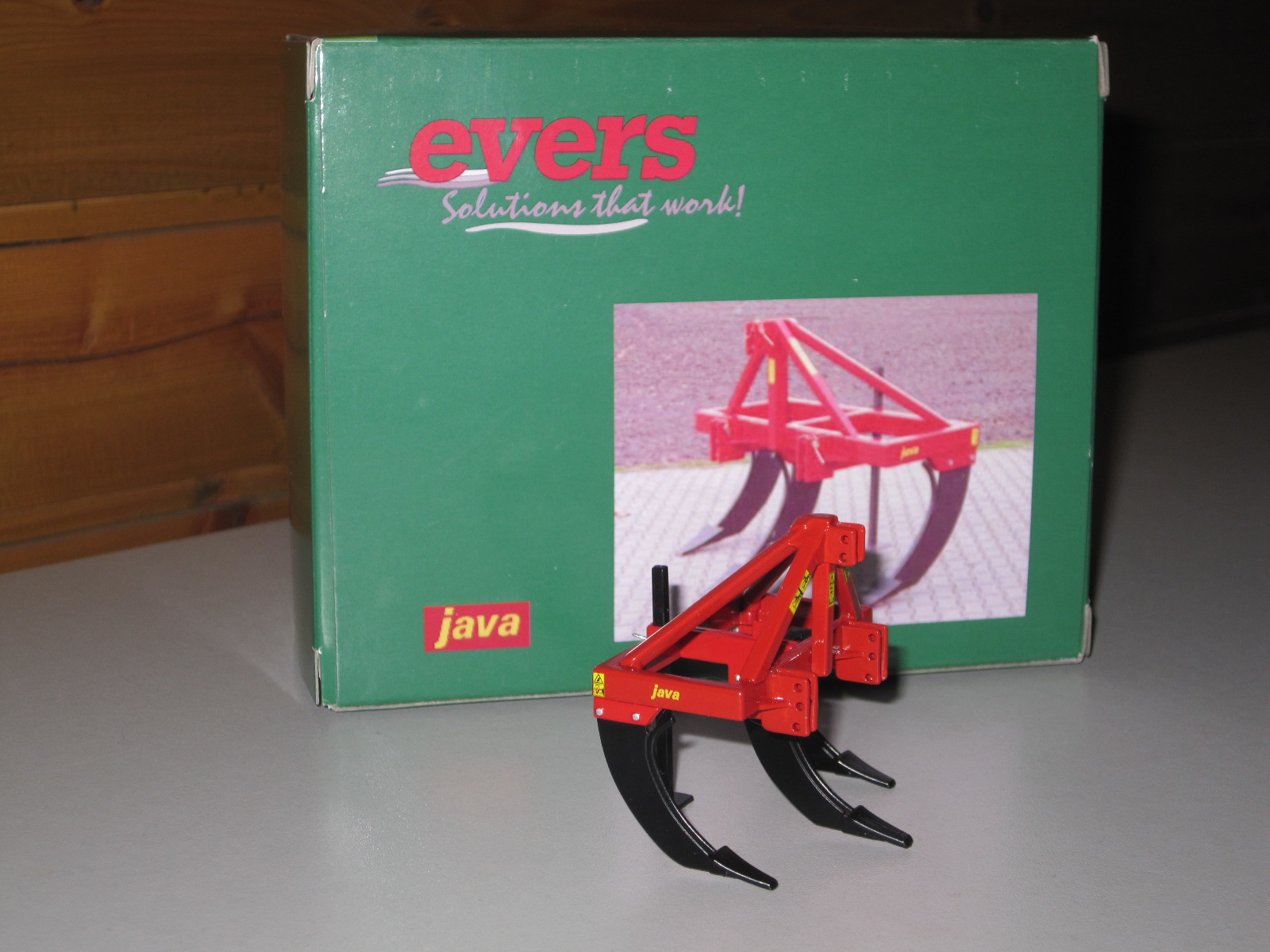 Evers Java Diepwoeler