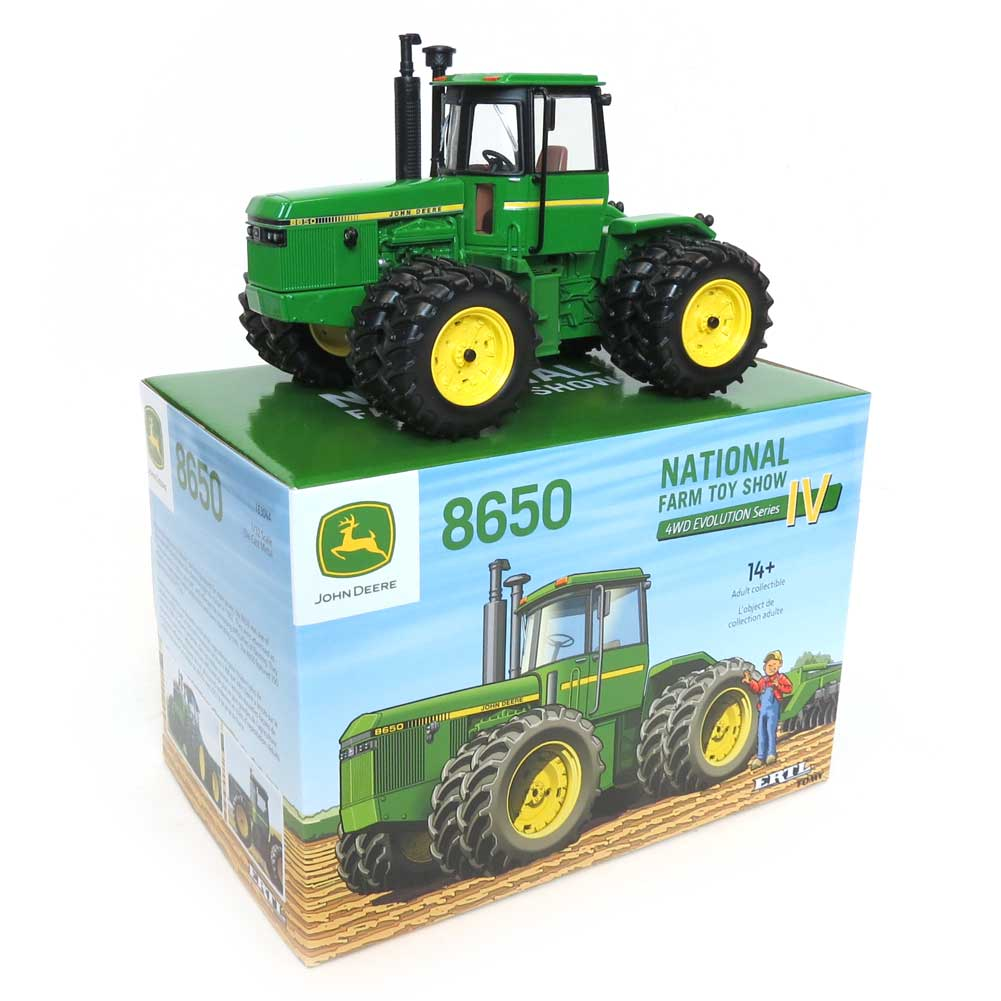 John Deere 8650 4wd with Duals - National Farm Toy Show