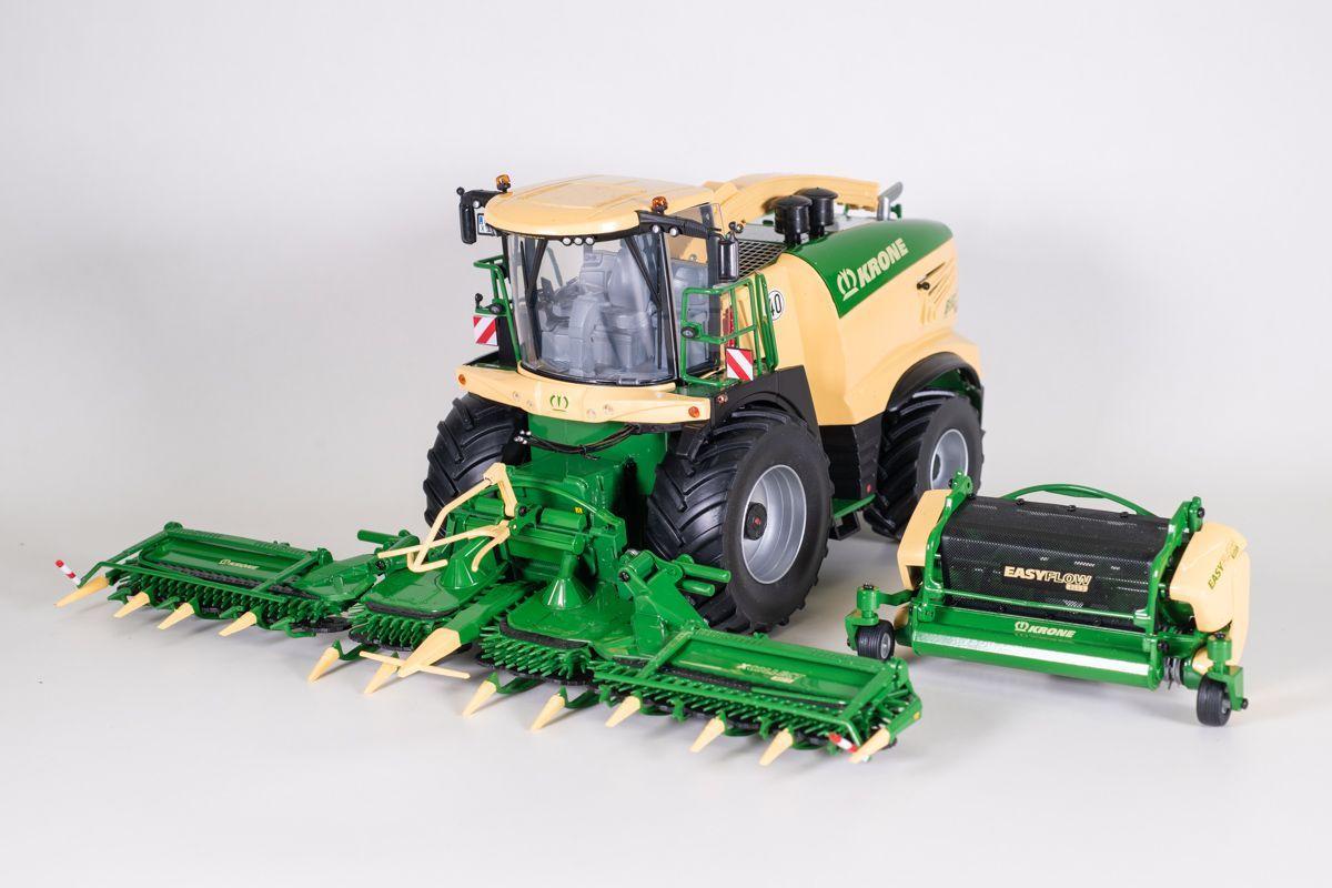 Krone Big X1180 + XCollect 900-3 en EasyFlow 300 S