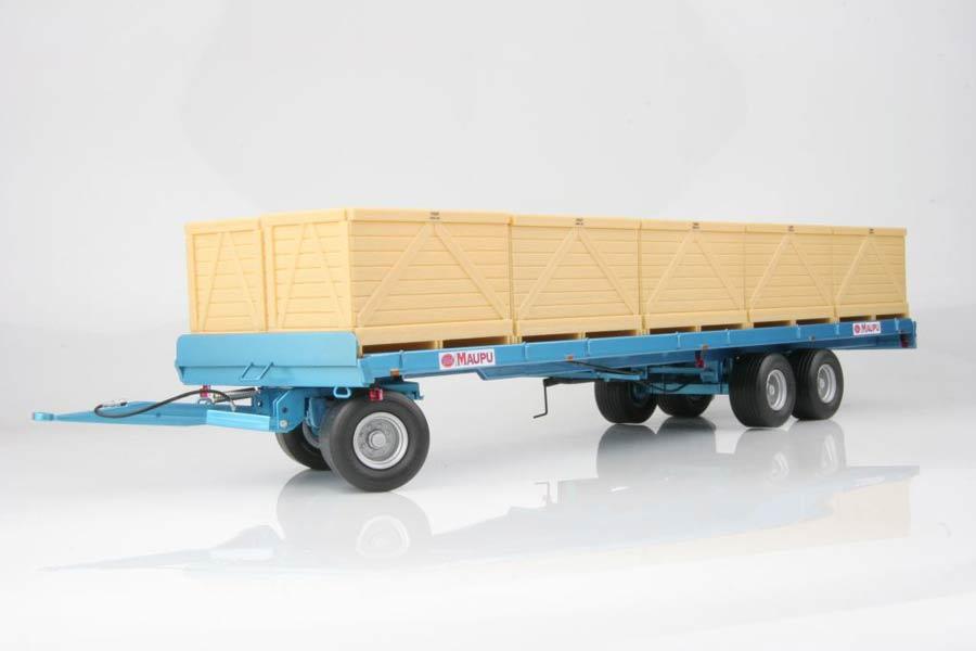 Maupu Palox Plattewagen Blauw