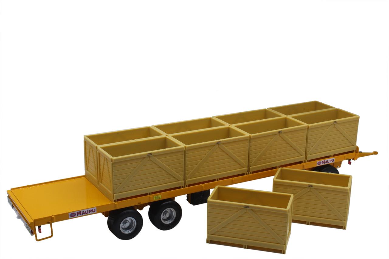 Maupu Palox Plattewagen Geel
