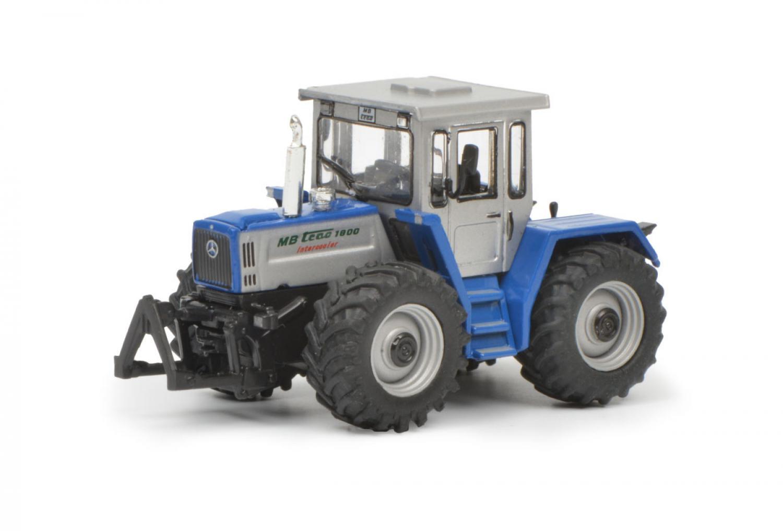 MB Trac 1800 Intercooler Blauw/Zilver 1:87