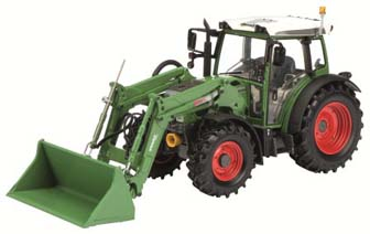 Fendt 211 Vario with Loader