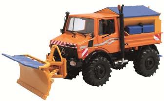 Unimog U 1600 Orange with Snowset