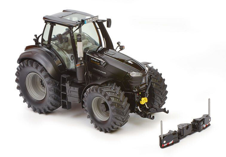 Deutz-Fahr 9340 TTV Warrior met Agribumper - Limited Edition