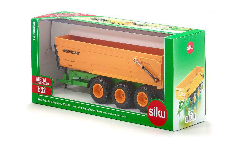 Joskin 3-as Dumptrailer