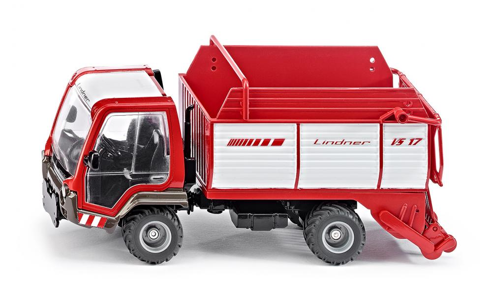Lindner Unitrac with Loaderwagon