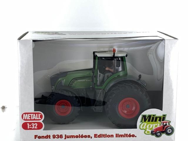 Fendt 936 Vario met Dubbellucht Groen Metallic - Limited Edition