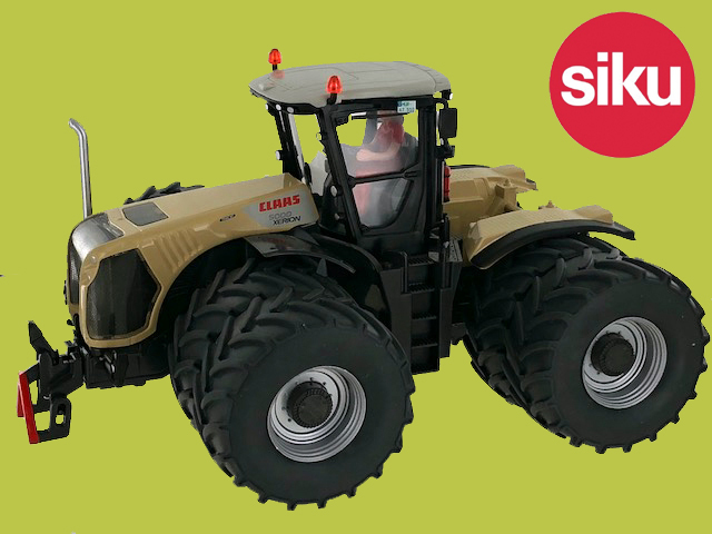 Claas Xerion 5000 met Dubbellucht Stotz - Limited edition