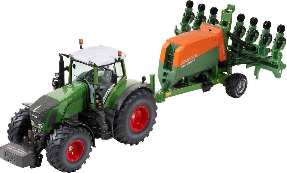 Fendt 939 Vario met Amazone EDX-6000TC - Limited Edition