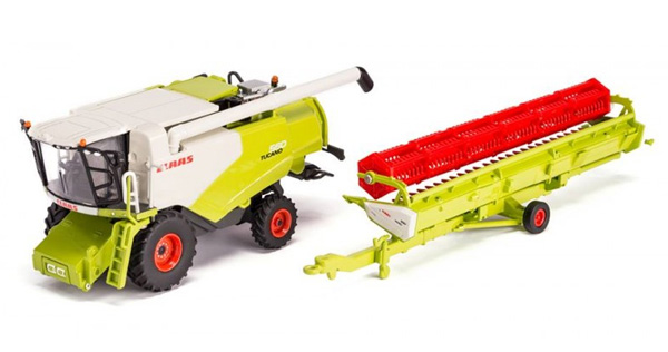 Claas Tucano 560 Combine w/ Orbis 930 Cutter Dealer Edition (USK) - 1:87