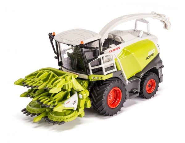 Claas Jaguar 870 Forage Harvester w/ Orbis 750 Cutter Dealer Edition (USK) - 1:87
