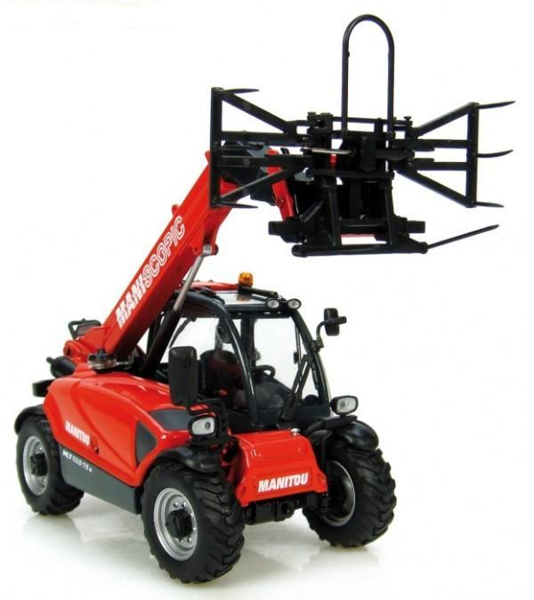 Manitou MLT625-75 with Balegrab
