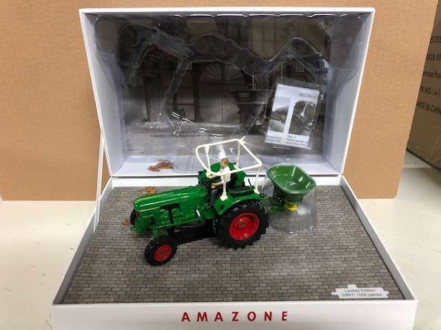 Deutz D6005 met Amazone ZA - Limited Edition