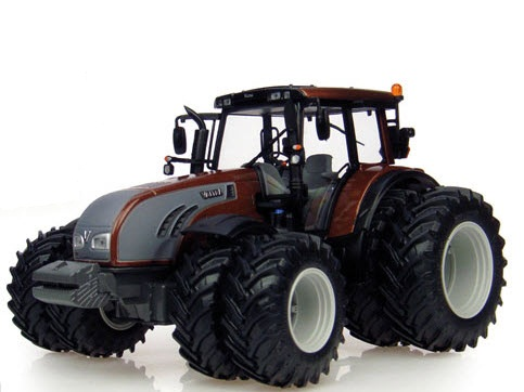 Valtra T202 with Duals Chocolate Brown