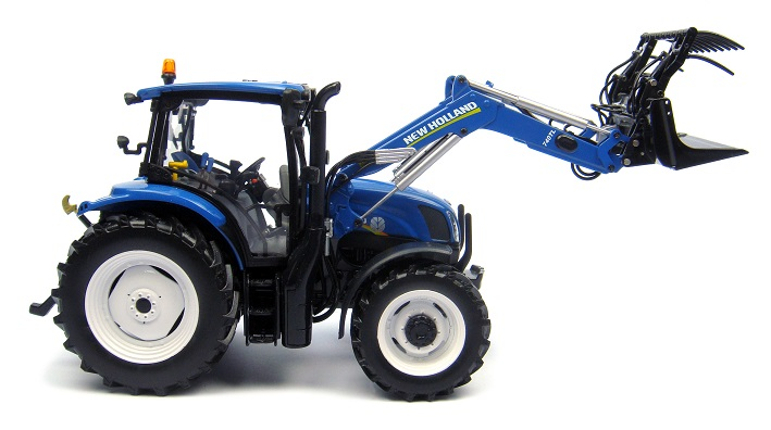 New Holland T6.140 with Front Loader (2014)