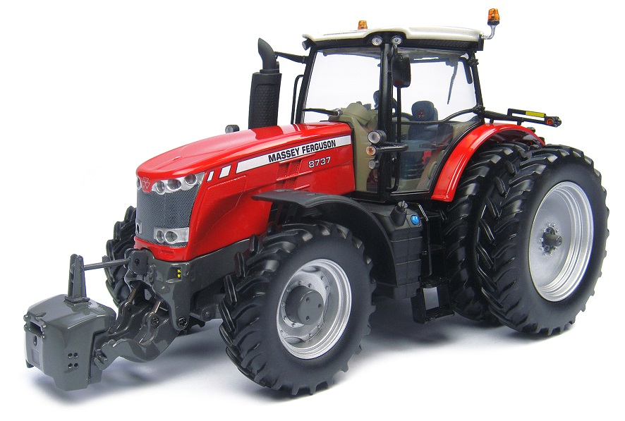 Massey Ferguson 8737 with Duals USA-Version