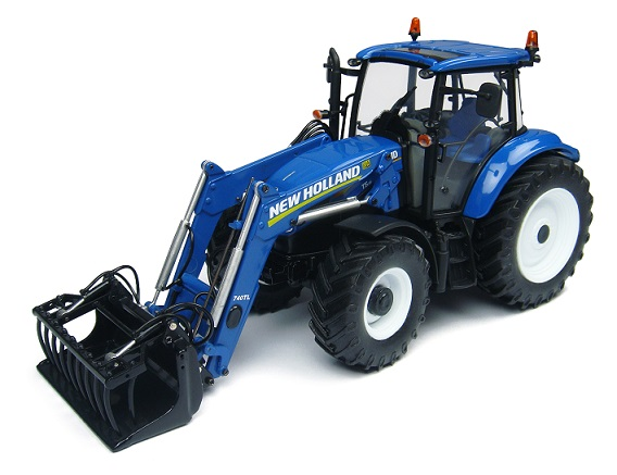 New Holland T5.115 with 740TL Frontloader