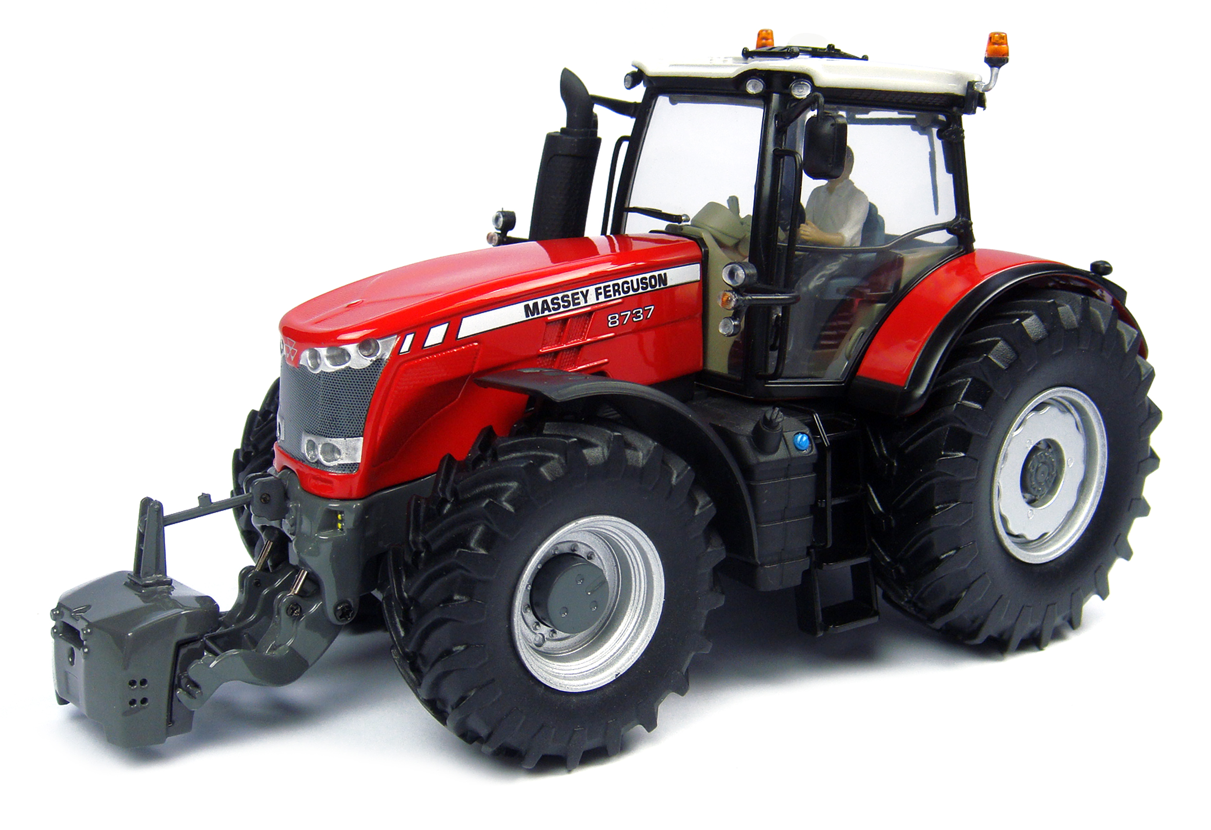 Massey Ferguson 8737 USA + Driver Limited Edition