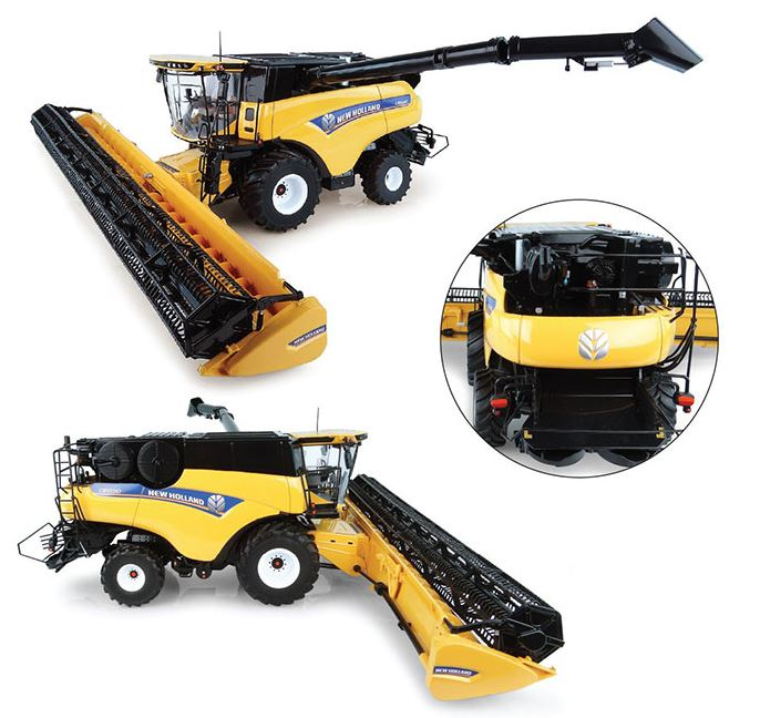 New Holland CR10.90 with Wheels