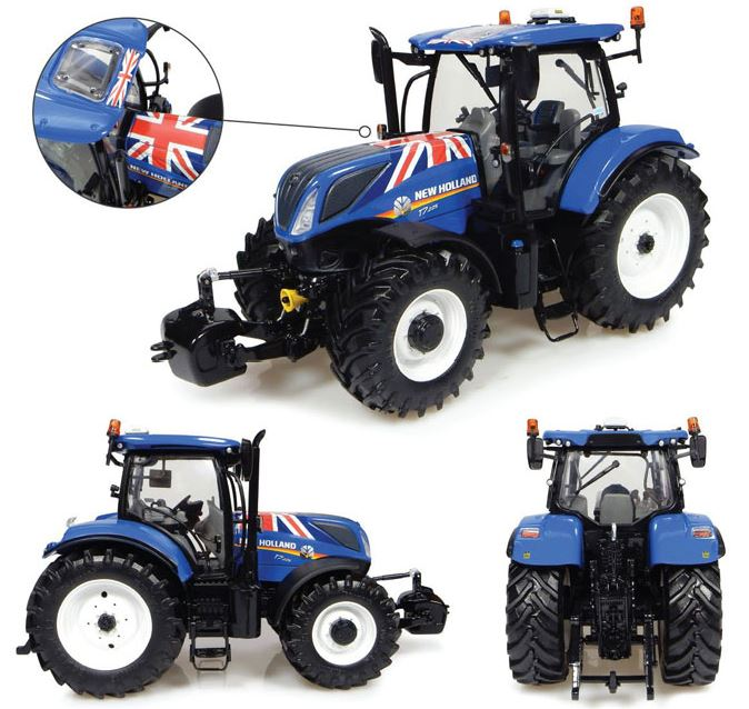 New Holland T7.225 Union Jack Edition (2015)