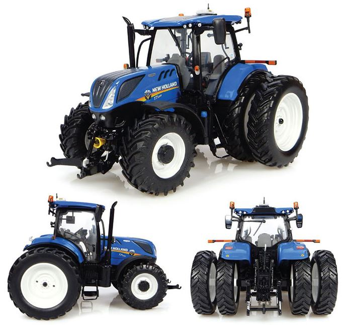 New Holland T7.225 met Dubbellucht (US-versie)