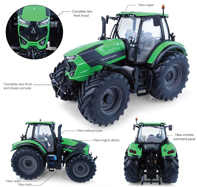 Deutz-Fahr Agrotron TTV 7250 (New 2017)