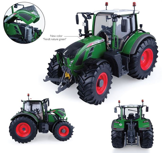 Fendt 724 Vario - Nature Green - 1:32