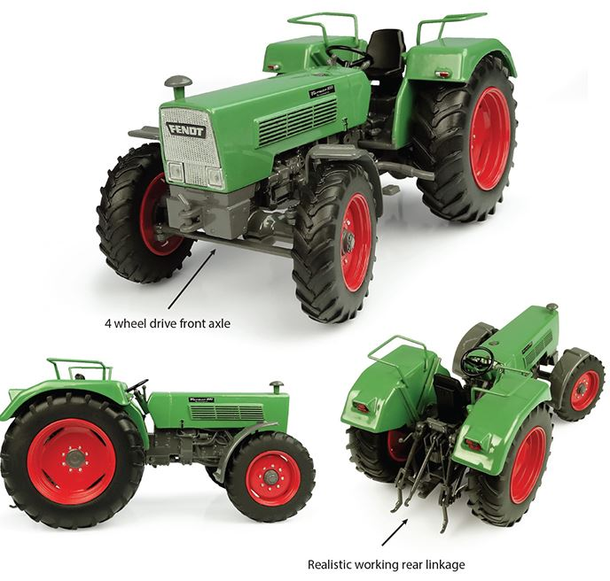 Fendt Farmer 105 S 4wd - 1:32