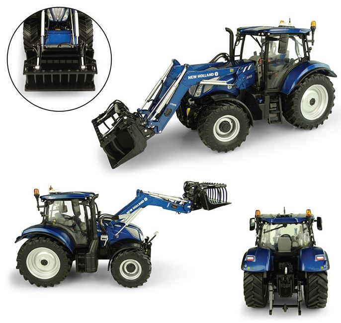 New Holland T6.175 Blue Power met 770TL Voorlader
