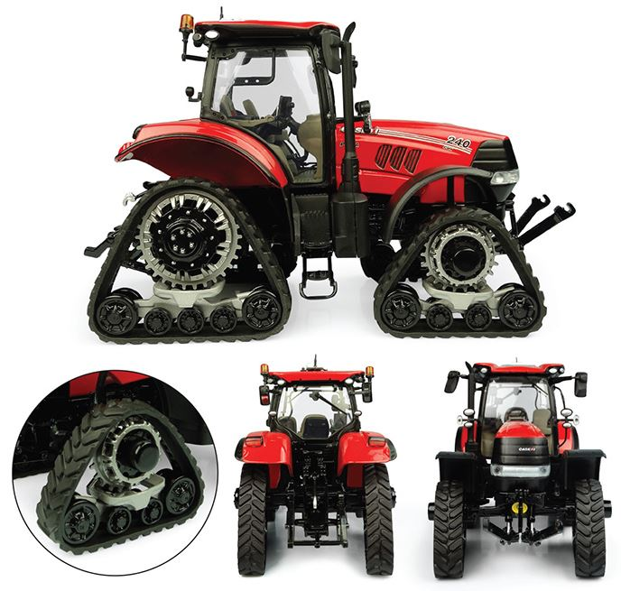 Case IH Puma 240 CVX with Tracks - 1:32