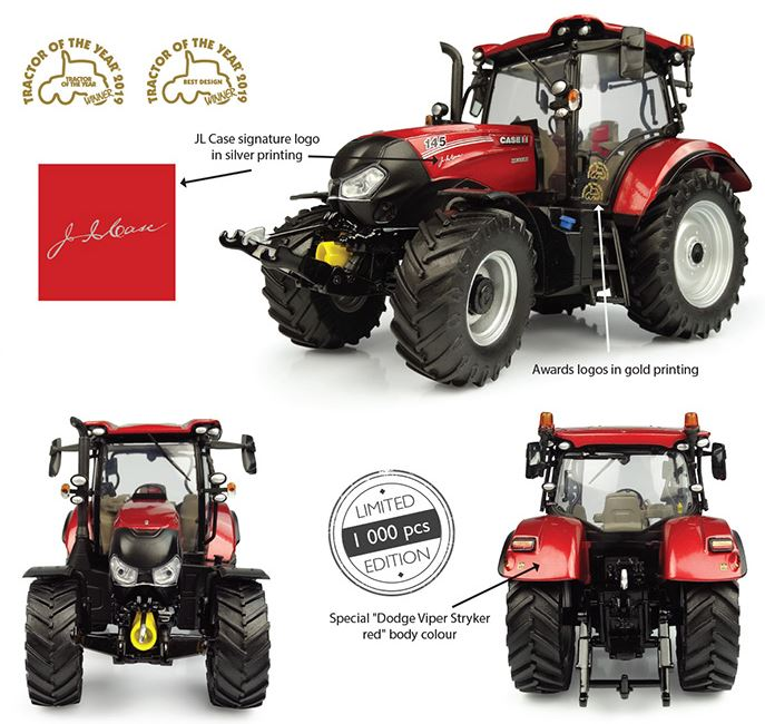 Case IH Maxxum 145 CVX Multicontroller TOTY 2019 - Limited Edition