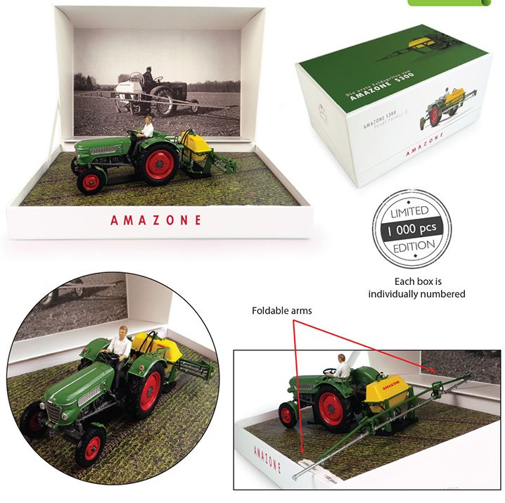 Fendt Farmer 2 met Amazone S300 - Limited Edition