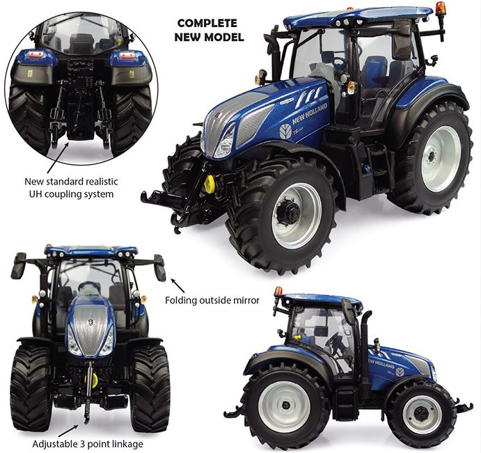 New Holland T5.140 Blue Power (2019)