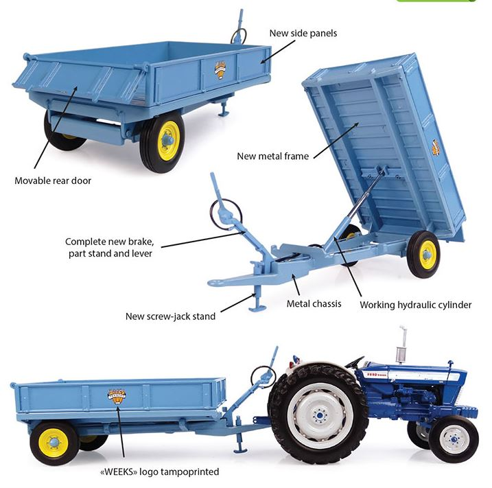 Weeks 3.5 Ton Tipping Trailer