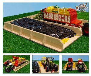 Sleufsilo hout 38x46x5 cm voor traktoren