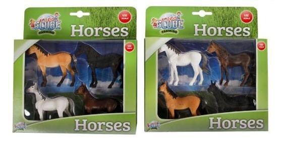 Farming Paarden 4 stuks
