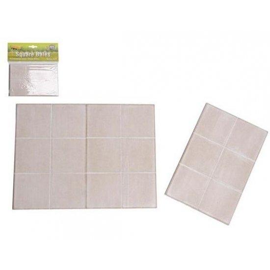 Betonplaten 3x6 stuks 18x12x0,5cm