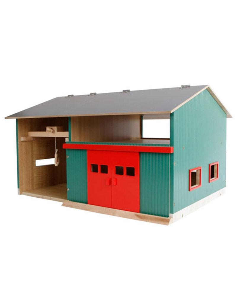 Werkplaats met Berging en Rode deuren - 1:32