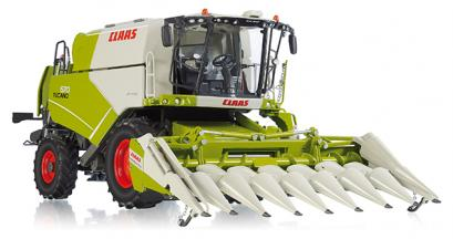Claas Tucano 570 met Conspeed Dirty Edition - WIKING