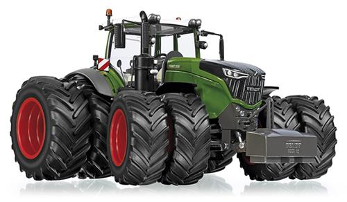 Fendt 1050 Vario Dubbellucht (Nature Green)  - WIKING