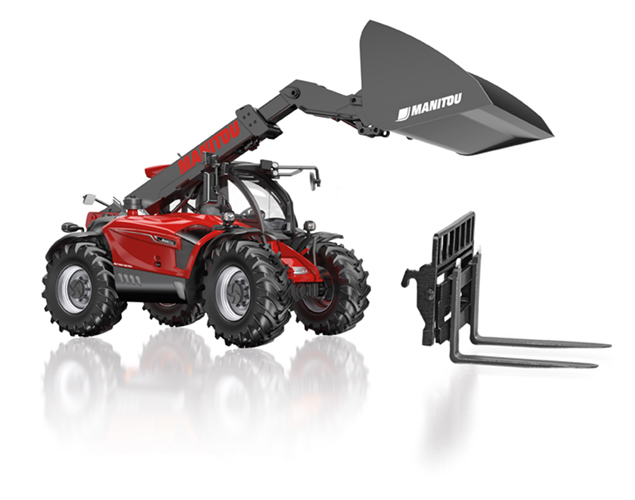 Manitou MLT 635 Telescopic Loader - WIKING