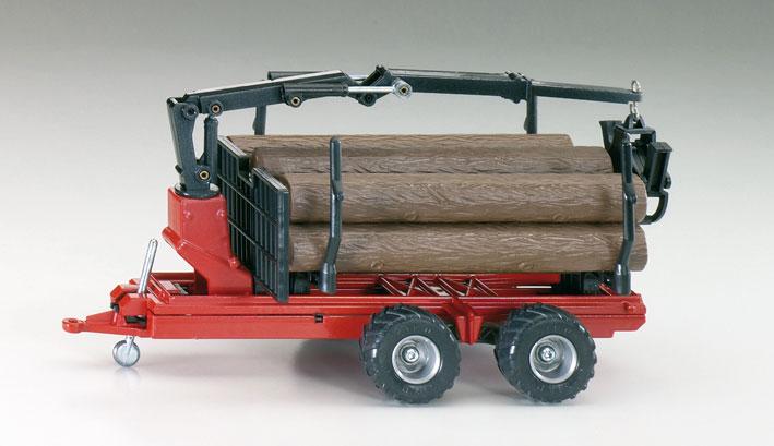 Bosbouwtrailer